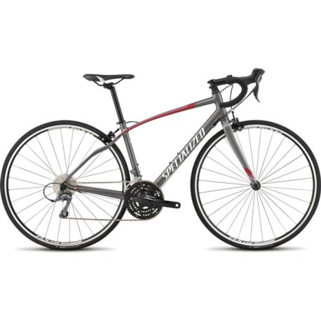 ROWER SPECIALIZED DOLCE X3 48 SILVER/RED/PINK