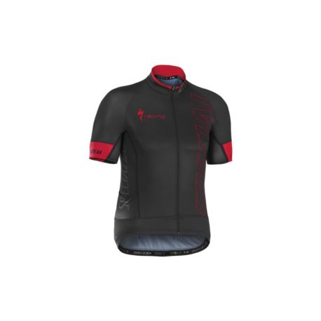 KOSZULKA SPECIALIZED AUTHENTIC TEAM SS M BLACK/RED