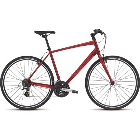 "ROWER SPECIALIZED SIRRUS 17,5"" CANDY ROCKET RED"