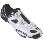 BUTY SPECIALIZED S-WORKS MTB 44 WHITE BLACK
