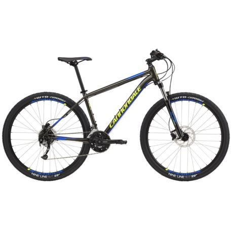 """ROWER CANNONDALE TRAIL 29"""" 5 L ANTHRACITE CER BLUE"""