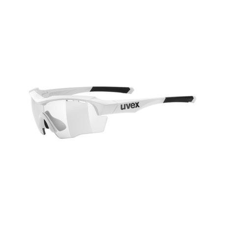 OKULARY UVEX SPORTSTYLE 104 V WHITE VARIOMATIC SMO