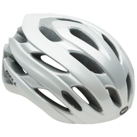 KASK BELL EVENT M (55-59CM) WHITE- SILVER ROAD