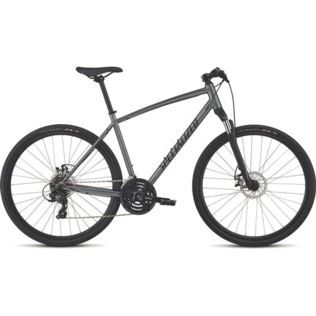 ROWER SPECIALIZED CROSSTRAIL MECH DISC L CHARCOAL