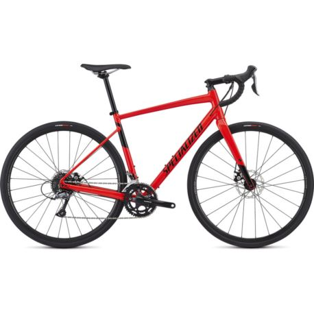 ROWER SPECIALIZED DIVERGE MEN E5 54 ROCKET RED BLK