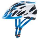 KASK UVEX FLASH BLUE/WHITE MAT 57-61CM