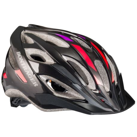 KASK BONTRAGER SOLSTICE S/M BLACK RED HOT GRAPE