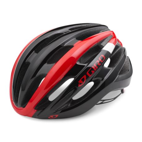 KASK GIRO FORAY M BRIGHT RED BLACK