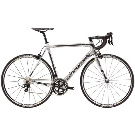 ROWER CANNONDALE SUPER SIX EVO 52 105 SILVER